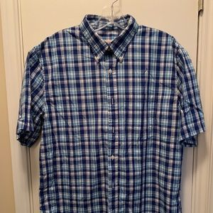 Brooks Brothers Short Sleeved Button Up Shirt